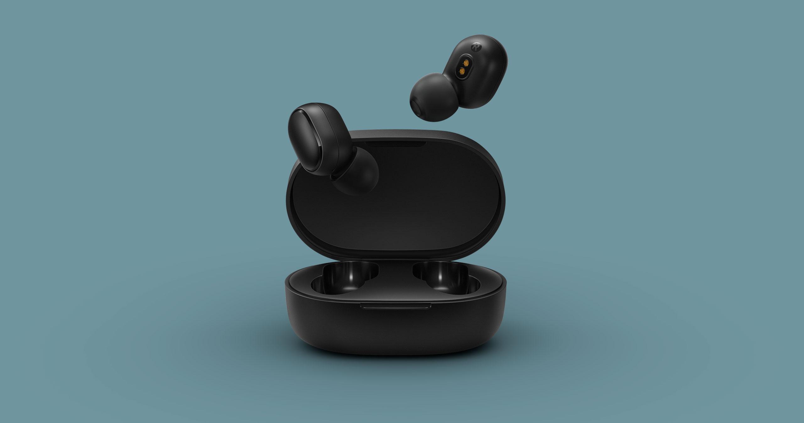 Беспроводные наушники Xiaomi Redmi AirDots True Wireless(черный)