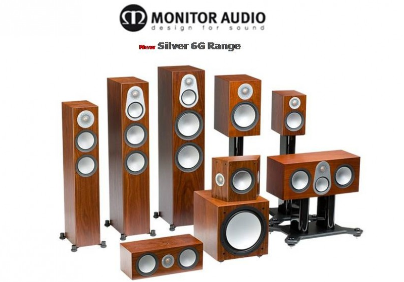 скидка 25% на акустику Monitor Audio Silver 6G