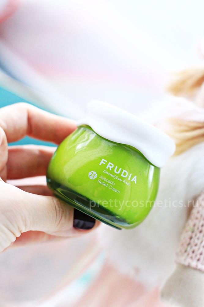 авокадо крем сухая кожа frudia