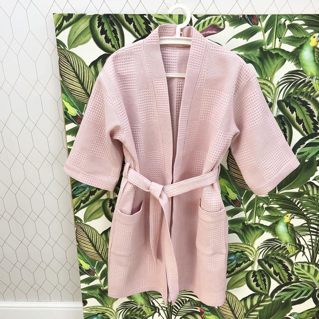 Вафельная ткань купить для халата