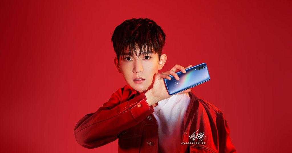 Смартфон Xiaomi Mi 9 красный стиль