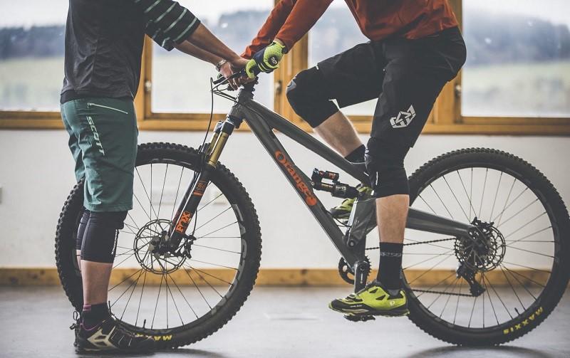 Как комфортно расположиться на велосипеде