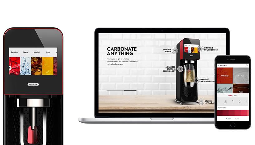 Сифон sodastream с LCD дисплеем