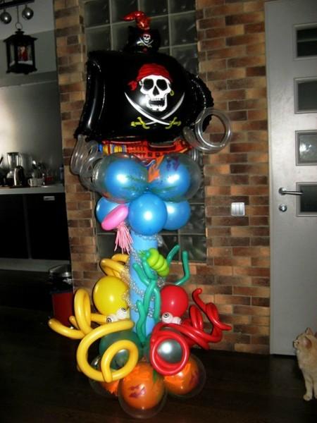 морская тематика оформление шарами пираты.jpg