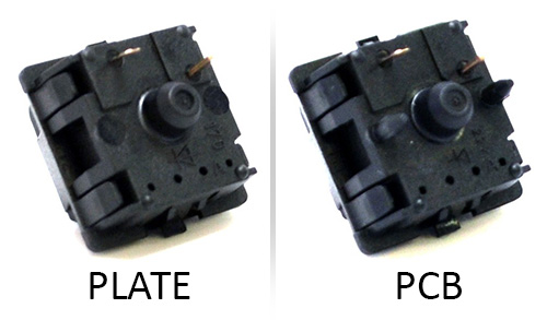 Plate mounted vs pcb mounted