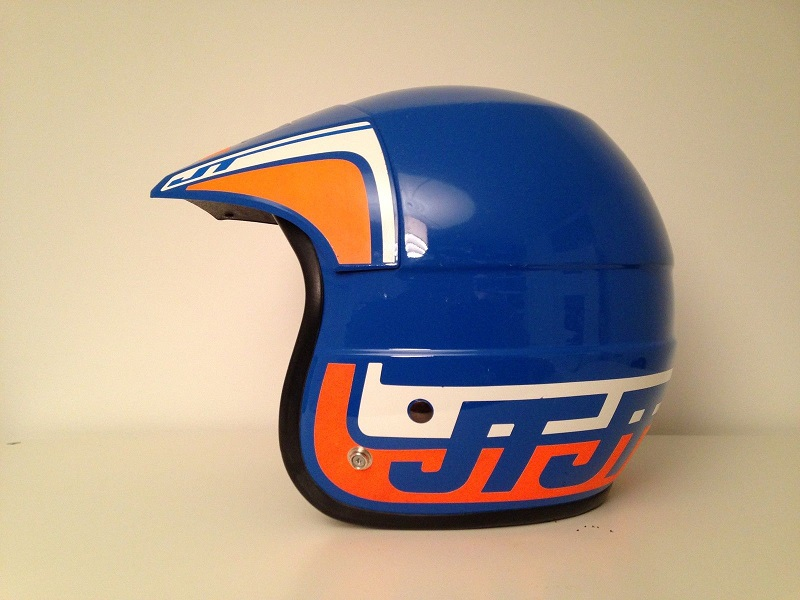 Классически шлем от Bell JT Racing ALS-1 HELMET Vintage Old School