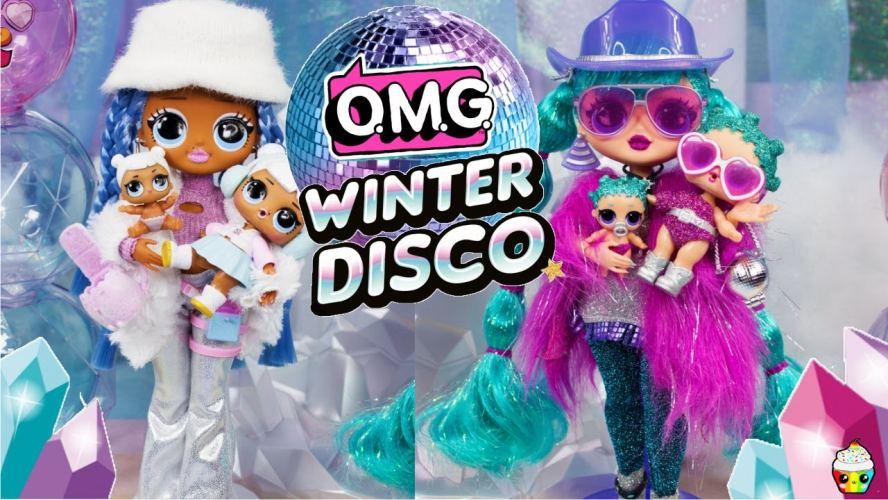 Коллекция кукол ЛОЛ O.M.G. Winter Disco