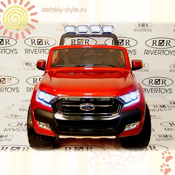 """Купить детский Электромобиль River Toys """"New Ford Ranger 4x4"""" (Лицензия) в шоу-руме в Москве, цена на оригинал"""
