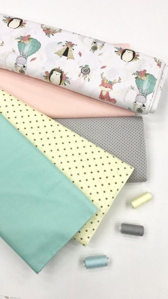 Ткань для декора детской комнаты