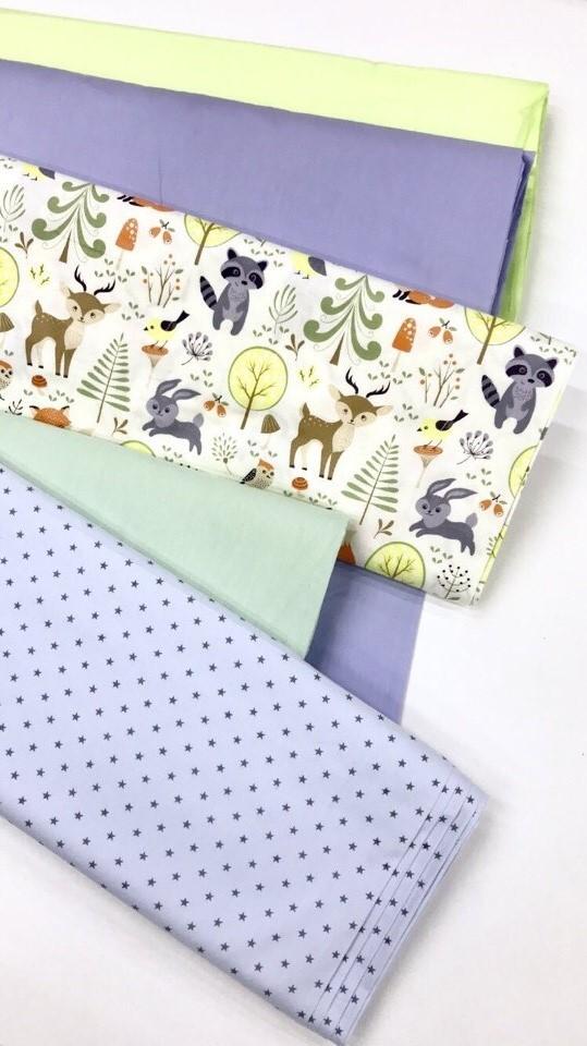 Ткань для оформления детской комнаты