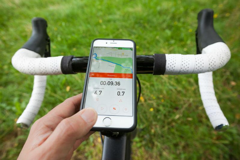 Мобильное приложение Strava