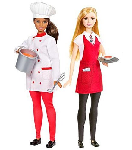 Набор кукол Барби Карьера - Ресторан
