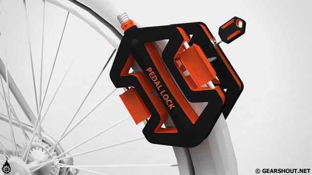 Блокіратор велосипедних коліс Pedal Lock