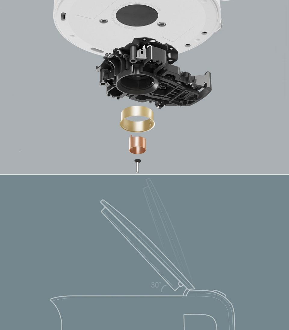 Электрочайник MIJia Electric Kettle конструкция крышки
