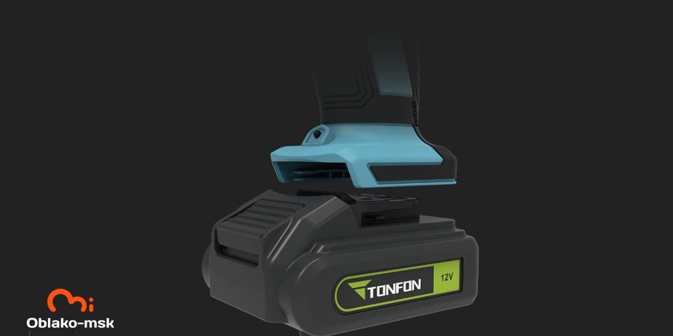 Аккумуляторная дрель-шуруповерт Xiaomi Tonfon Wireless Electric Cordless Drill 12V