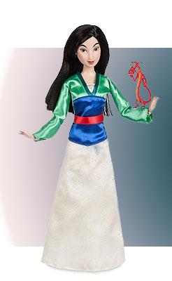 Кукла Мулан с дракончиком в наборе