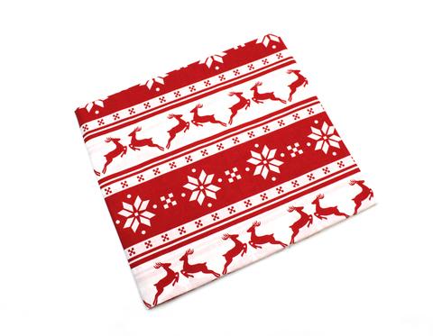 Новогодние ткани в скандинавском стиле
