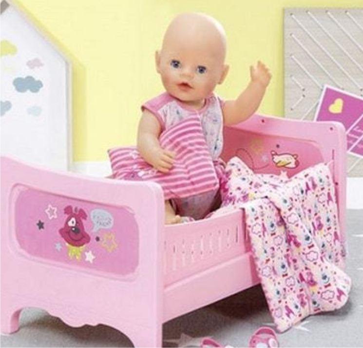 Кроватка для куклы малыша Беби Борн