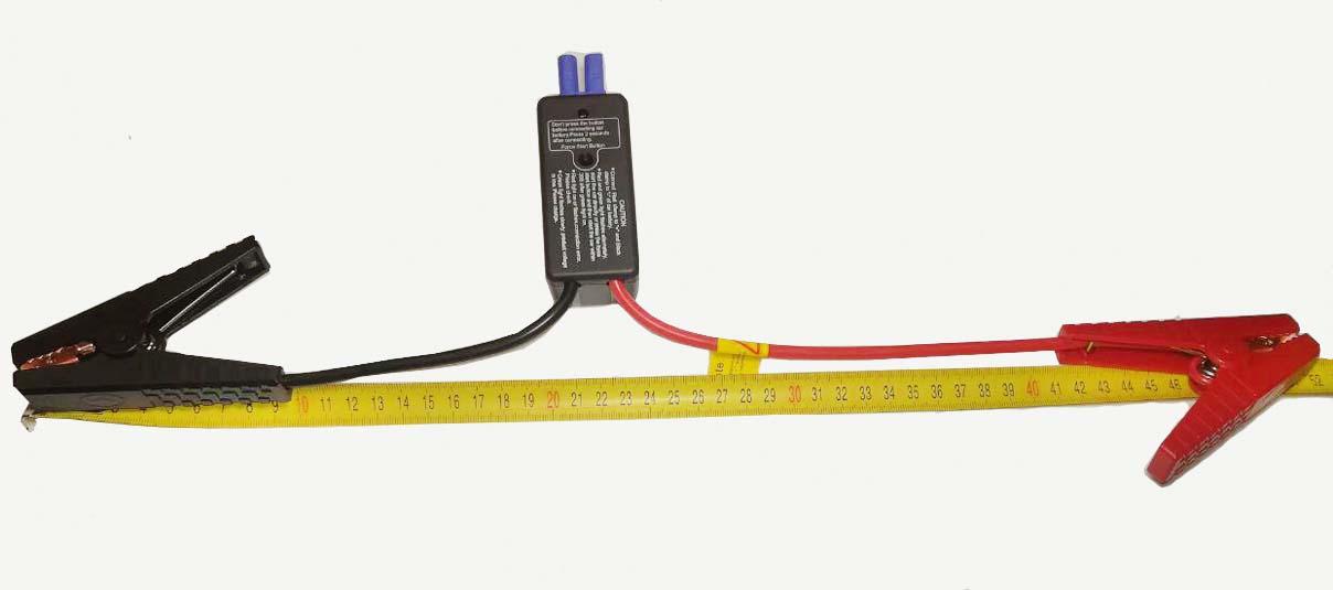 Длина силовых проводов пускового устройства Hasvik JP33