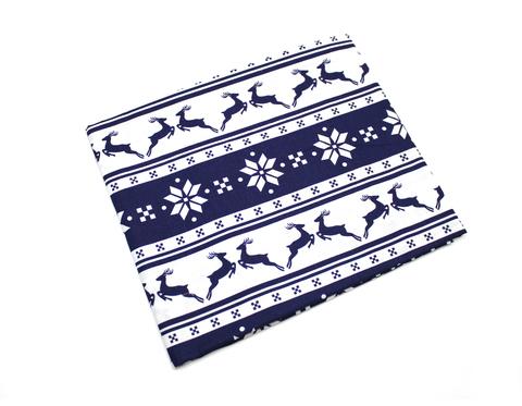 Новогодние ткани с оленями