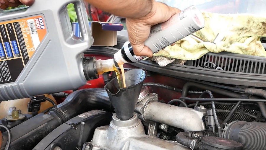 Моторное масло для замены VW