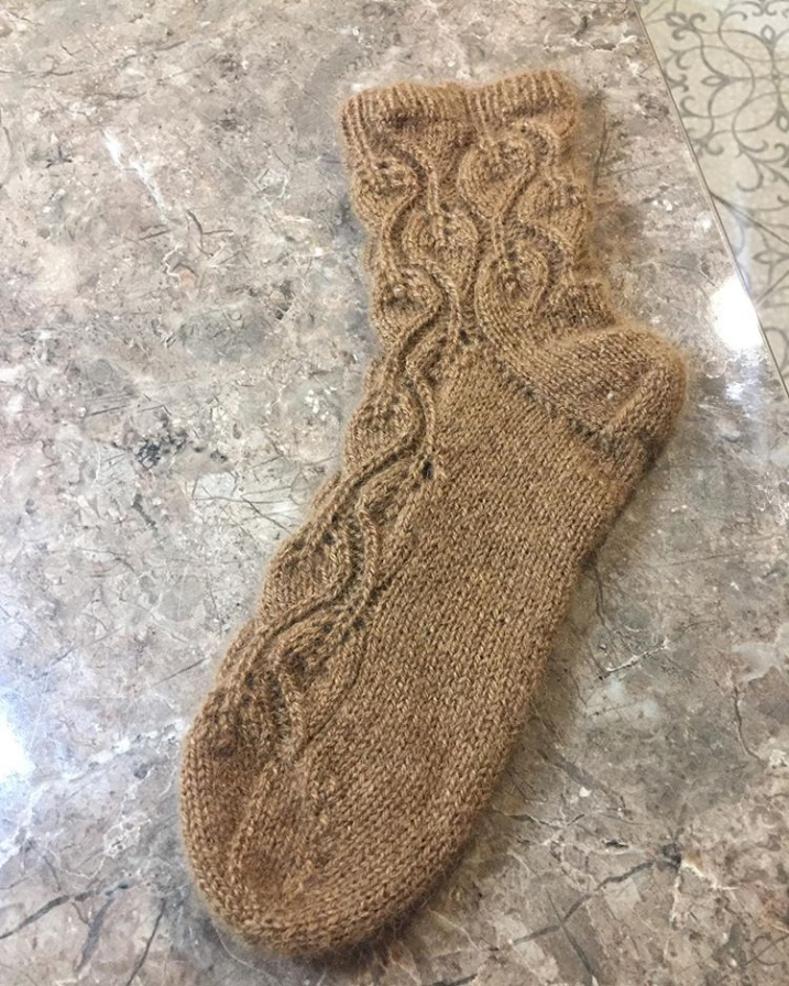 носки из верблюжьего пуха sarlag