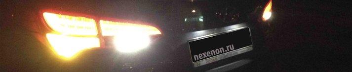 замена поворотных ламп на светодиодные в Hyundai Santa Fe 2014 (DM)