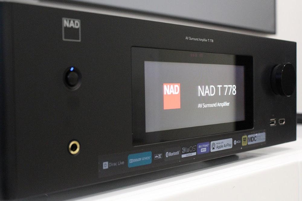 АВ ресивер NAD T 778