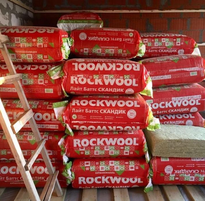 Утеплитель Rockwool Лайт Баттс Скандик 1200х600х100 купить