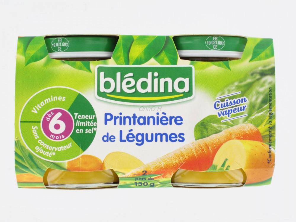 марка детского питания bledina