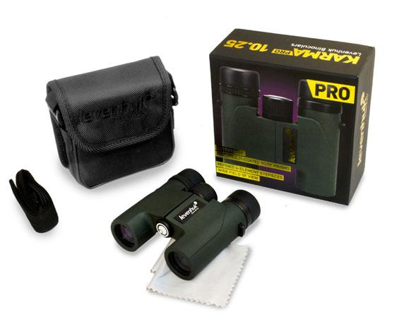 Бинокль Levenhuk Karma Pro 10x25: комплект поставки