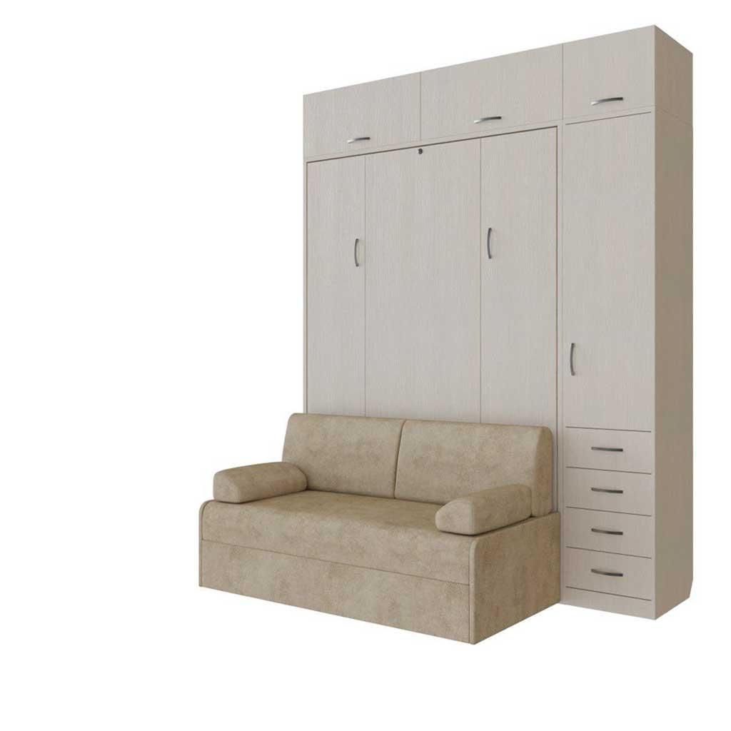 Композиция в декоре файнлайн кремовый с диваном