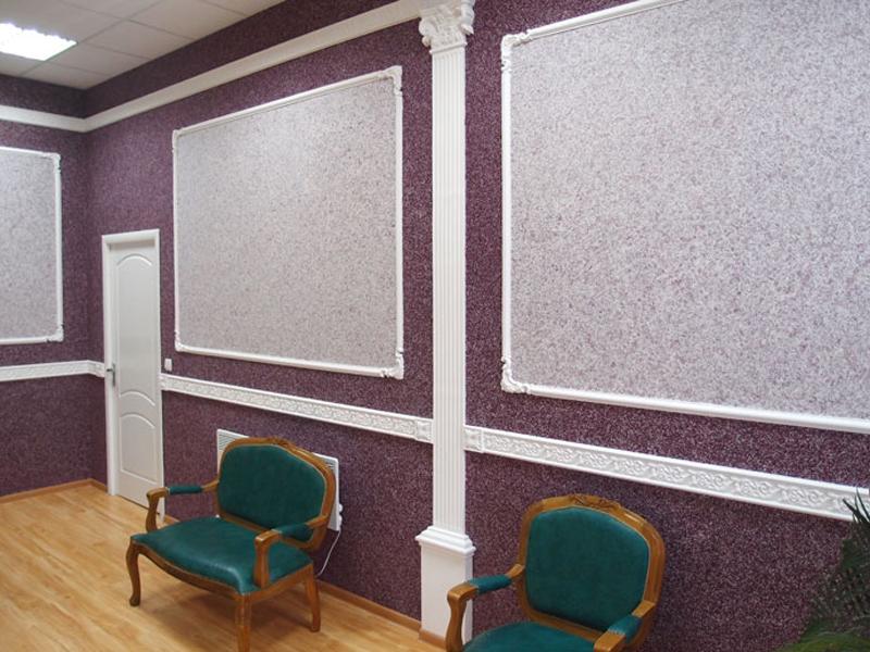 Разбивка стены на отдельные зоны с использованием нескольких цветовых гамм
