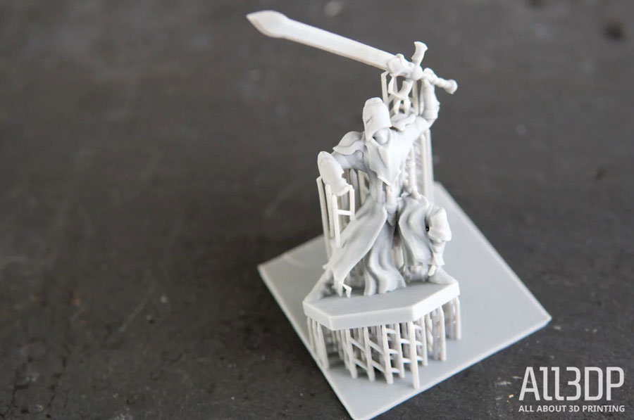 Широко известная в узких кругах тестировщиков 3D-принтеров чрезвычайно запутанная миниатюра