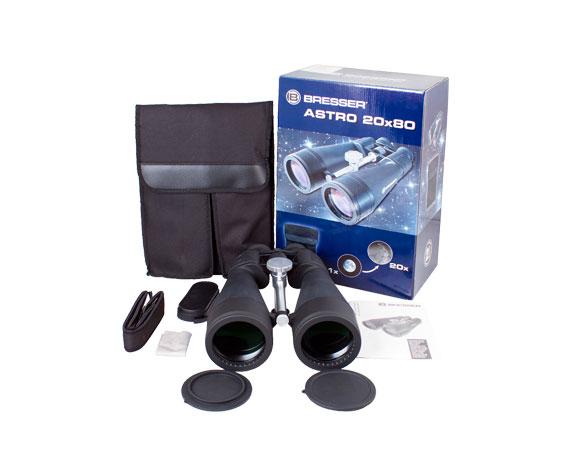 Бинокль Bresser Spezial Astro 20x80: комплект поставки