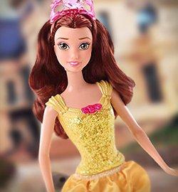 Кукла Белль из коллекции Сверкающая Принцесса, Disney Princess