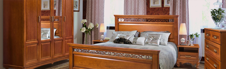 Мебель из массива дерева – Спальня Венеция