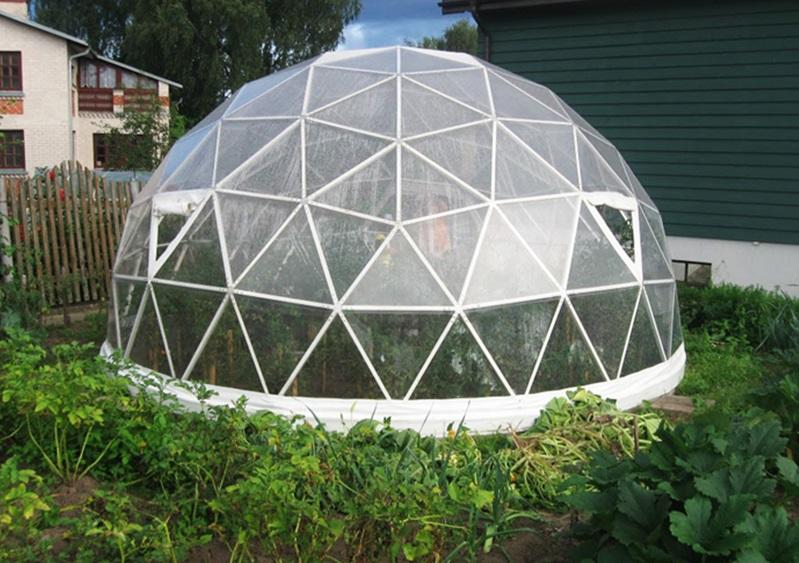 Прозрачный шатер FirstTent