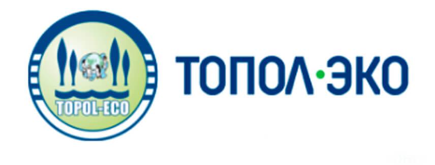 Логотип Топол-Эко топас