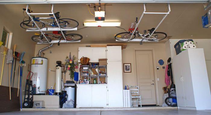 Зберігання велосипедів на цокольному поверсі