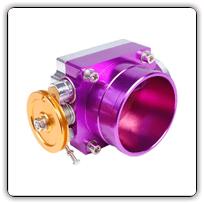 При одификации двигателя обычно требуется увеличение воздушного потока за счет увеличения дроссельной заслонки