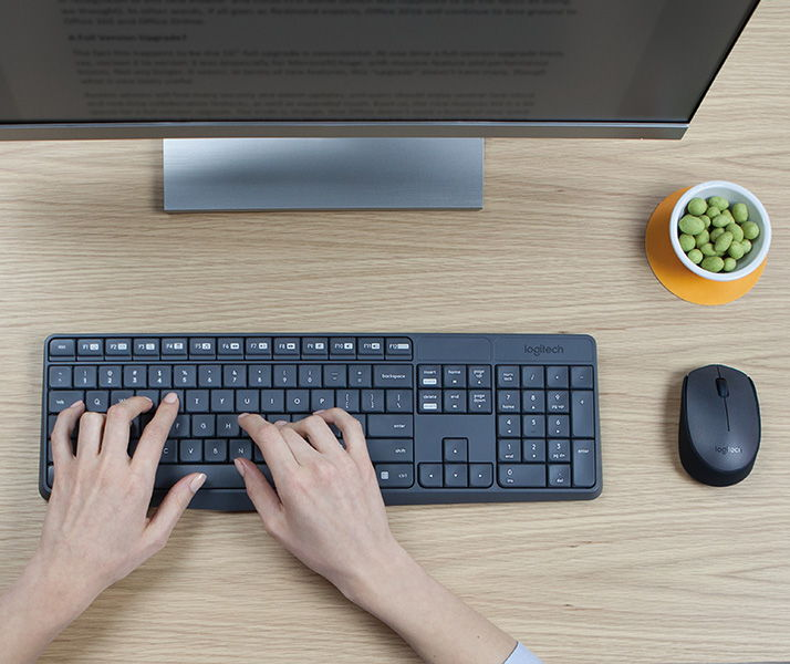 Привычная раскладка клавиатуры