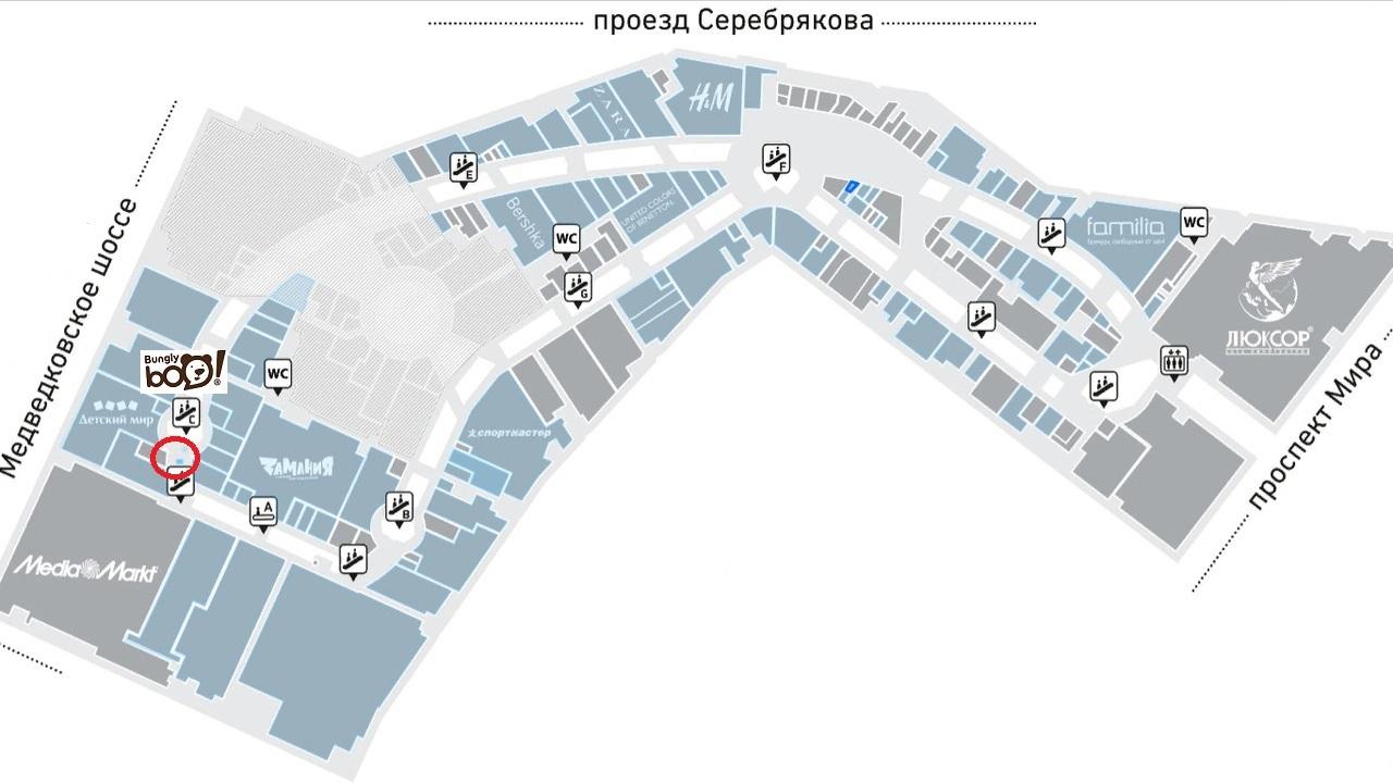 Золотой вавилон проспект мира схема расположения магазинов фото 243