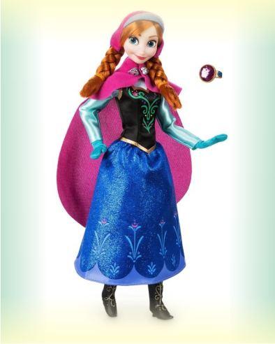 Кукла Анна с кольцом из Холодное сердце от Disney