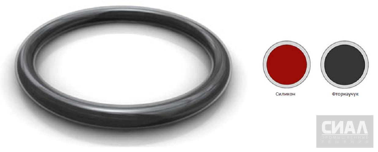 Конструкция уплотнительных колец в оболочке
