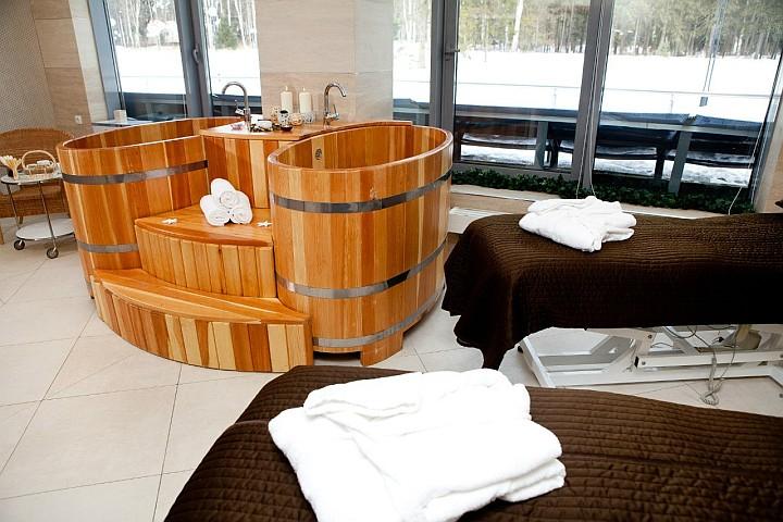 Цена SPA-процедур может быть включена в общую стоимость номера гостиницы