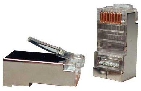 Коннектор RG-45 FTP купить