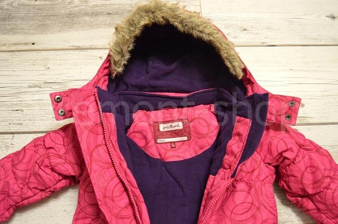 Флис на куртке от комплекта Premont Каток Оттавы