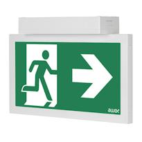 INFINITY II AC Световой эвакуационный указатель для автомобильных парковок и паркингов