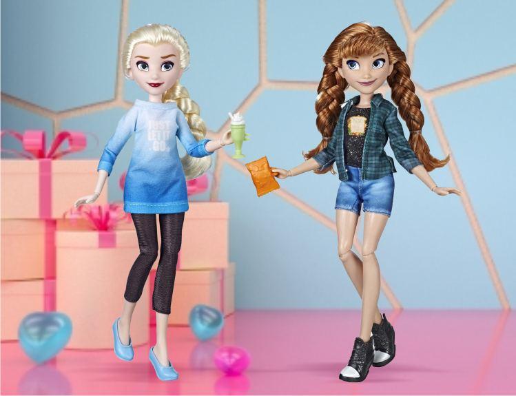 Куклы Эльза и Анна из серии  Ральф против интернета от Disney